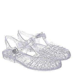 NEW CLEAR JELLY SANDALS
